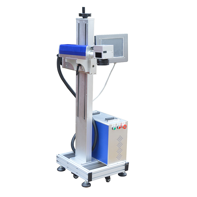 Macchina di marcatura del cavo del laser della fibra di volo 20W per - Attrezzature per la lavorazione del legno - Fotografia 3