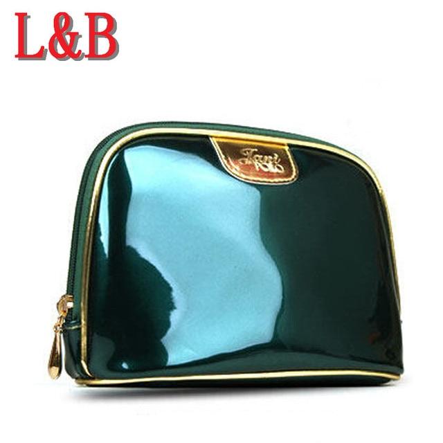 Hot-selling PU Matte Clutch Bags Cosmetic Admission Package Large Capacity Handbag Style Female Waterproof Make Up Bag Women Bag