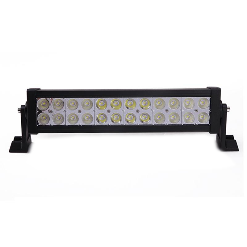 One combo 72W LED Work Light Bar 24 X 3w led Flood Spot Beam Spotlight Offroad Light Bar Fit ATV outdoor light free shipping free dhl ups fedex ship 13 5 72w 2700lm 10 30v 6500k led working bar curved option wire of harness led bar light