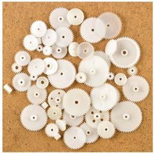 57 styles Plastic Gears All Module 0.5 Robot Parts for DIY Arduino