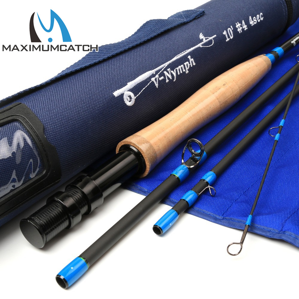 Maximumcatch Fly Rod 10/11FT 2/3/4WT 4SEC Nymph Fly Rod  SK24 Carbon Fiber  Nymph Fly Fishing Rod туфли michael michael kors 40f7armp2d 001 black