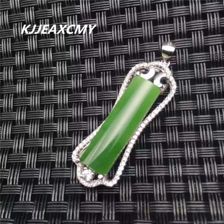 KJJEAXCMY boutique jewelry Natural Jasper lady pendant jewelry wholesale S925 Sterling Silver зеркало evoform style by 0825