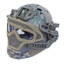 2016 новый стиль тактический Многофункциональный система шлем Г4/как шлем с защитные очки для военных airsoft охота пейнтбол CS