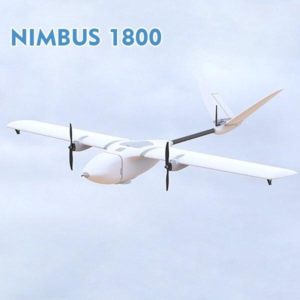 MyFlyDream MFD Nimbus 1800 Long Range RC FPV Plane Kit New Version EPO Big 1800mm Airplane