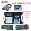 5pcs Lot DHL Free A Quality ODIS V3 0 3 4 13 Bluetooth Support UDS VAS5054A