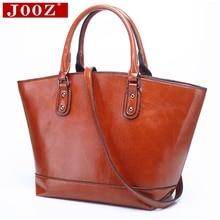 Jooz Для женщин Курьерские сумки Вместительные сумки женские Повседневное сумка Кожезаменитель сумки Для женщин сумка известный бренд Bolsa feminina