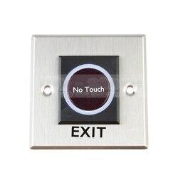 DIYSECUR przycisk wyjścia na podczerwień nie dotykowy przełącznik indukcyjny styl/dostęp do przełącznik/przełącznik wyjścia dla systemu kontroli dostępu