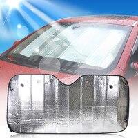 70*137 см спереди лобовое стекло автомобиля козырек от солнца защита от солнца складной козырек от солнца на заднее стекло Алюминий Фольга кры...
