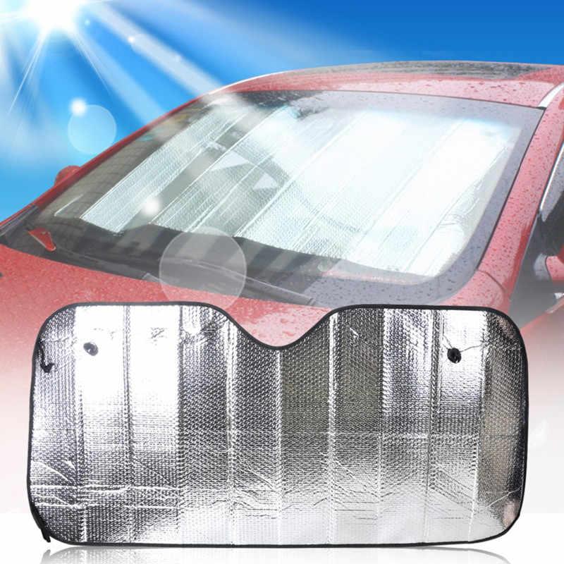 28 x 31 Medium Car windshield sun shade foldable 2-Piece car sun screen for front window sun visor protector shield blocker for car window covers Blocks Max UV Rays and Keeps Your Vehicle Cool