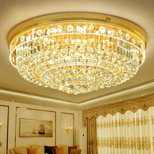Simple modern crystal lamp living room led ceiling lamp bedroom lighting round European restaurant ceiling lights fixtures fumat stained glass ceiling lights european fashion restaurant bedroom study ceiling lamp for living room light fixtures