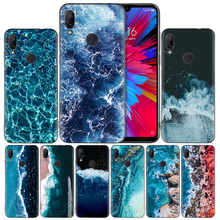 waves ocean water light Silicone Case Cover for Xiaomi Mi 9 8 Play A1 A2 Redmi Note 7 6 6A 5 Plus S2 GO Lite Pro Pocophone F1 стоимость