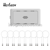 8 Ports Laptop Security Alarm System PC Display Alarm Macbook Anti Theft Box Notebook Computer Seguridad Cable For Retail Shop