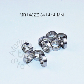 MR148ZZ 8*14*4(mm) 10piece free shipping ABEC-5 bearing Metal Sealed Miniature Mini Bearing  MR148 MR148ZZ chrome steel bearings s51112 bearing 60 85 17 mm 1pc abec 1 stainless steel thrust s 51112 ball bearings