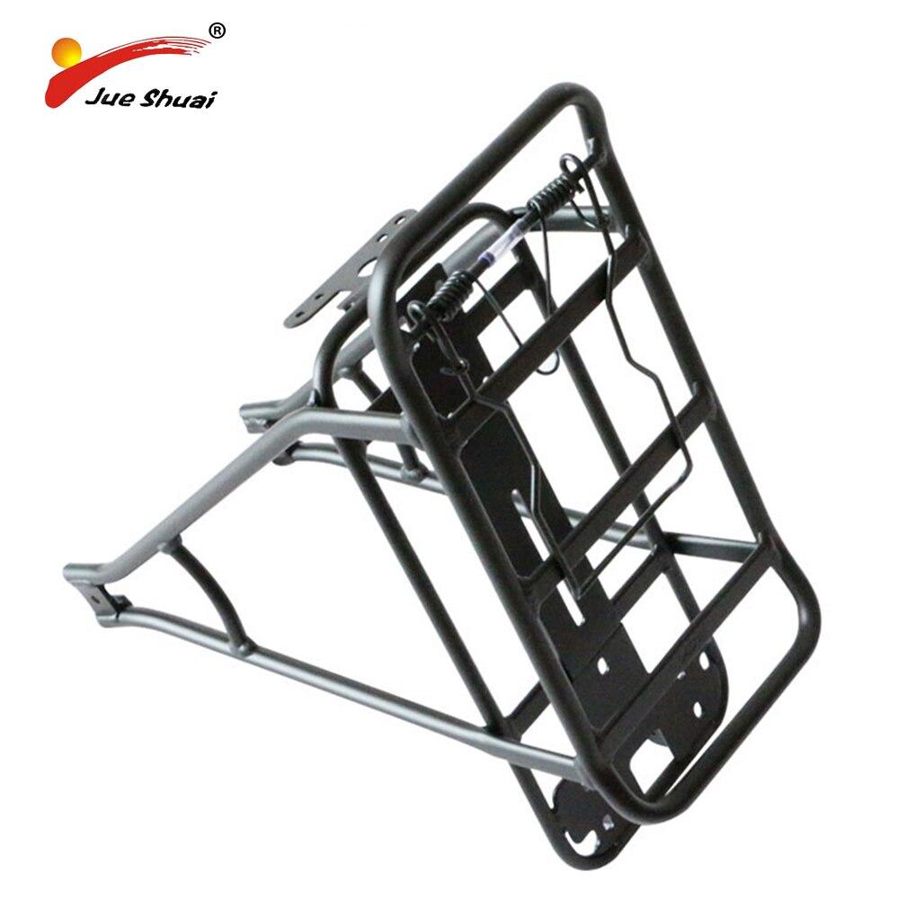 Регулируемая 26 27,5 700C 28 черный Цвет алюминиевый сплав велосипед стойки багажнике велосипед сзади перевозчика велосипед поддержка