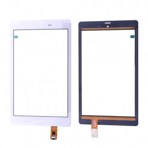 New 8'' inch Digitizer Touch Screen Panel glass For Casper Via T8 3G Tablet PC зарядное устройство для фотокамеры mogoi 1200mah np bg1 sony np bg1 sony dsc h10 dsc h3 dsc h50 dsc h7 dsc h9 b5 4521