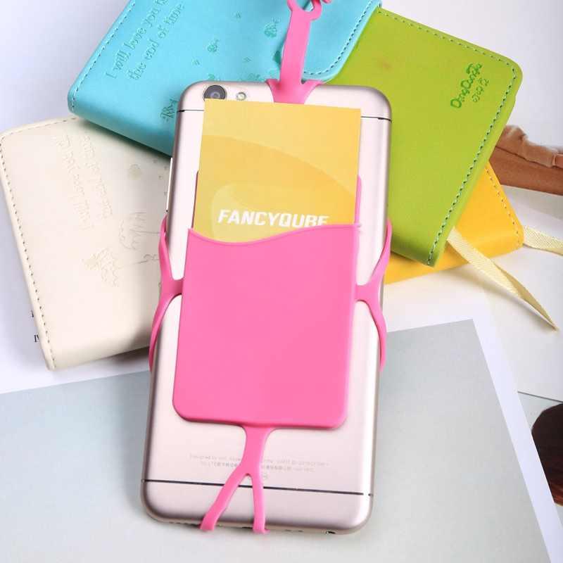 Telefon komórkowy silikonowa smycz pasek na szyję bransoletka naszyjnik klips do kartek zestawy DIY