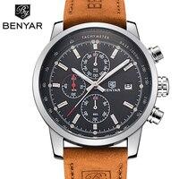Sport Suit Watches Men Waterproof Leather Band Quartz Wrist Watch Military Clock Man Male Relogio Masculino