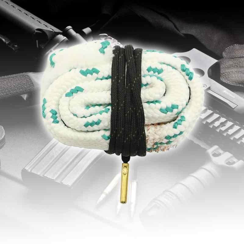 Чистящий канат винтовка пистолет баррель Чистящая Щетка веревка комплект портативный пистолет принадлежности для охоты 12 GA Gaug 5,56/9/7,62/4,5 мм