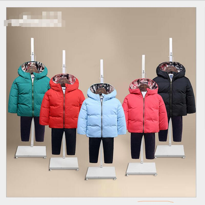 2016 autumn and winter new children's down jacket wholesale boy girl soldier down jacket