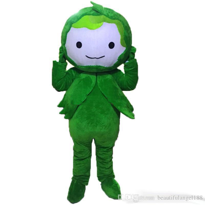 Christmas Fancy Dress Funny.Us 179 58 18 Off New Adult Funny Green Cabbage Mascot Christmas Fancy Dress Halloween Mascot Costume In Mascot From Novelty Special Use On