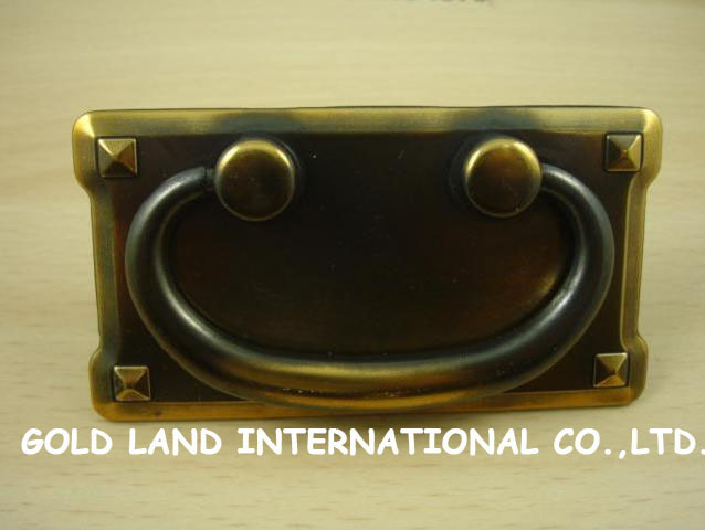 76mm Free shipping zinc alloy  furniture drawer handle