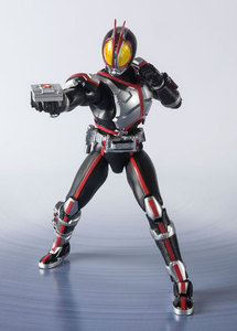 """Image 5 - """"Kamen Rider Faiz"""" Оригинальный BANDAI Tamashii Наций S. H. Figuarts SHF Action Figure Kamen Rider Faiz 20 Kamen Rider Kicks Ver."""