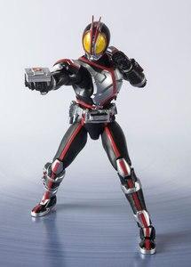 "Image 5 - ""Kamen Rider Faiz"" oryginalny BANDAI Tamashii narodów S.H. Figuarts SHF figurka Kamen Rider Faiz 20 Kamen Rider kopnięć Ver."