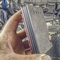EDC кошелек из титанового сплава, держатель для карт, зажим для банкнот, металлический латунный простой мужской кошелек для карт, алюминиевый...
