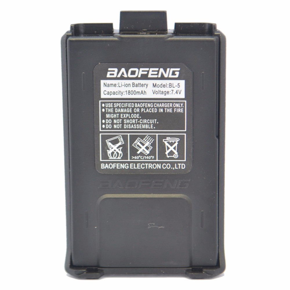 Baofeng Battery Camouflage 7.4V/ 1800mAh Rechargeable Battery For Baofeng UV 5R 5RA 5RB 5RC 5RD 5RE Two Way Radio