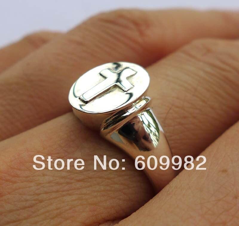 Wellmadeของแข็งเงินสเตอร์ลิงแหวนข้าม-ใน ห่วง จาก อัญมณีและเครื่องประดับ บน AliExpress - 11.11_สิบเอ็ด สิบเอ็ดวันคนโสด 1