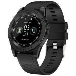 Round Smart Watch Phone Men Su