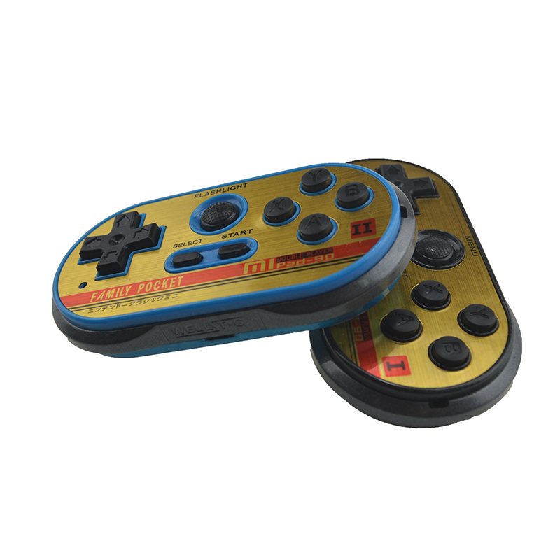 8 Bit Mini Video Gaming Controller For FC30 Pro Built-in 260 Classic Games Handheld Game Players Support TV Output