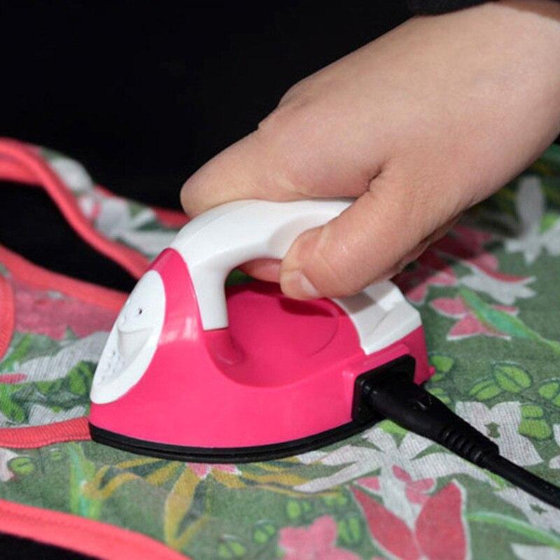 Hot Convenient Portable Mini Electric Iron Constant Temperature Crafting Clothes Ironing Tools For Travel Dorm HY99 AU31