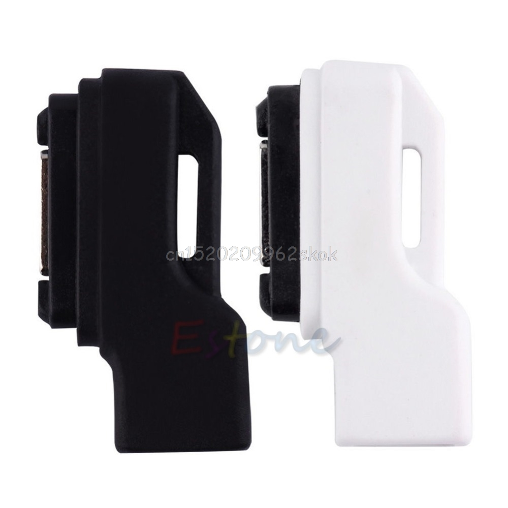1PC Micro USB to Magnetic Charging Charger Dock Adapter for Sony Xperia Z1/Z2/Z3 #H029# micro usb port magnetic adapter charger for android micro usb charging flex cable for smart phone