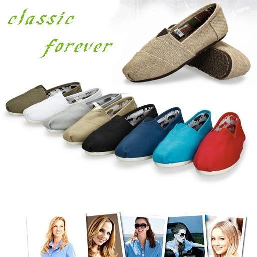 Классический женщины холст обувь модные мокасины квартиры женщины эспадрильи дешевые alpargata повседневная обувь оптом