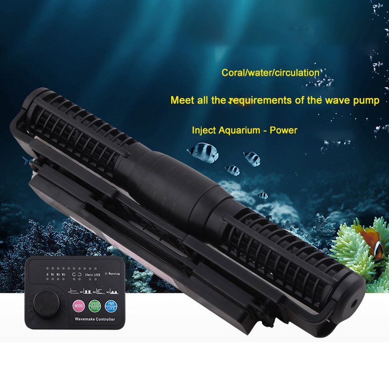 Wave Pump CP25 CP40 CP55 Marine Aquarium Wave Maker for Master / Slave Pump Control Wave Flow Pump Cross-flow PumpWave Pump CP25 CP40 CP55 Marine Aquarium Wave Maker for Master / Slave Pump Control Wave Flow Pump Cross-flow Pump