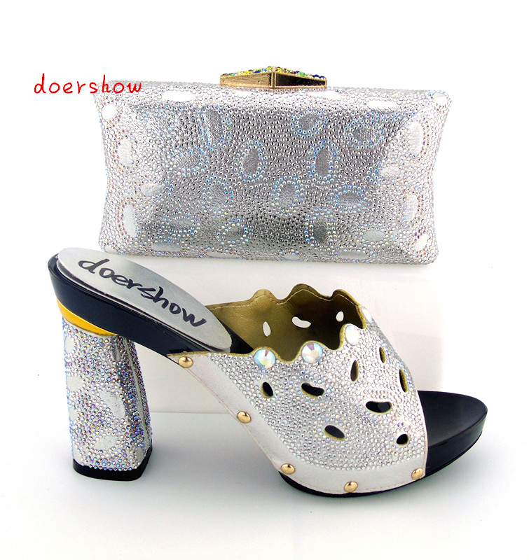 doershow 2017 Italian Shoes And Bags To Match,Ladies Shoes For Wedding/Party High Quality Shoes And Bag Set In white ! bb1-21 new silicone r7s led lamp 10w 15w smd 3014 78mm 118mm led r7s light bulb 220v energy saving replace halogen light lampada led