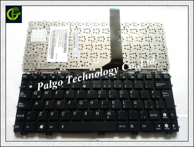 Spanish Keyboard For Asus Eee PC EPC 1015 1015B 1015p 1015PN 1015PW 1015T 1011px  Black LA Latin SP Spanish