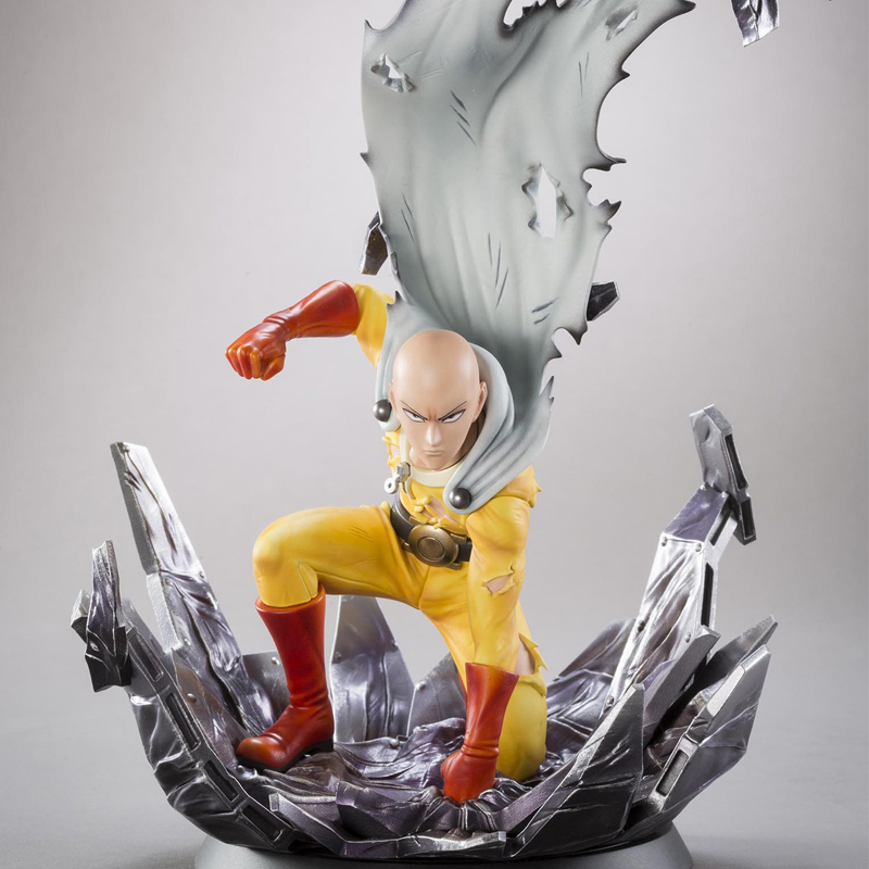 Anime 25cm Saitama Tsume ONE PUNCH MAN Figure Collection Toys with Retail Box new hot 18cm one piece donquixote doflamingo action figure toys doll collection christmas gift with box minge3
