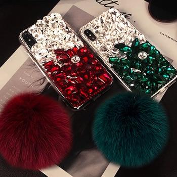 For Huawei P10 P20 P30 PLUS Lite Mate 30 10 20 Pro Lite Luxury Glitter Back Cover Crystal Bling Diamond Rhinestone Phone Case