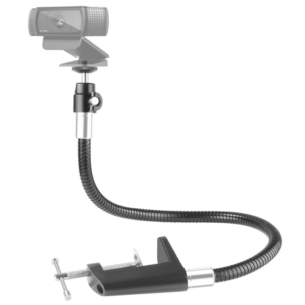 Schwanenhals Halterung Für Webcam Verkaufsrabatt 50-70% Unterhaltungselektronik Neewer 25 Zoll/13,3 Zoll Flexible Jaw Lange Arm Swivel Clamp Clip-halter Stehen Kamera & Foto