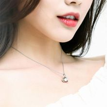 New Fashion Shell Necklace Artificial Pearl Pendant Short Clavicle Chain Temperament Cold Light Personality Small Jewelry For Wo