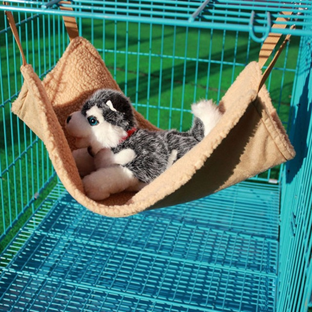 25*25CM Pet Cat Nest Mat Kennel Cat Hammock Small Pet Dogs Puppy Bed Cover Blanket Cat Hanging Bed Cage