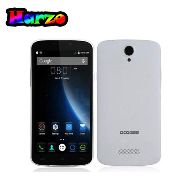 """В наличии Оригинальные Doogee X6 Android 5.1 4 ядра MTK6580 1.3 ГГц 1280*720 5.5 """"IPS HD Экран 1 г + 8 г 3 г телефон смартфон"""