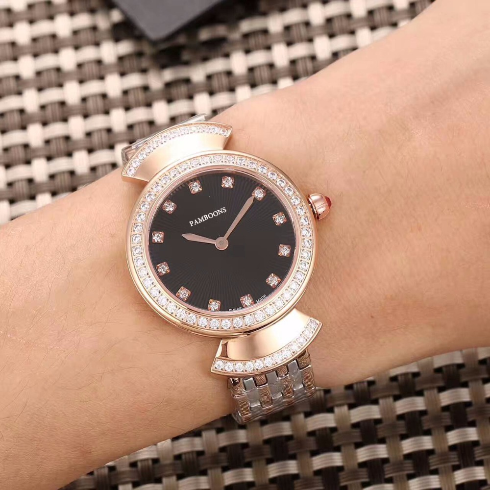 2017 New Fashion lady Military nice Watches women s Best Auto Date Clock  Top Brand Luxury lstainless Strap Casual Wrist Watch -in Women s Watches  from ... f5a4e057c192