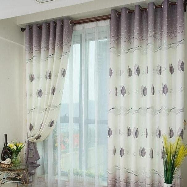 Les Rideaux De Chambre A Coucher : Fenêtre impression personnalisée prêt à l emploi rideau