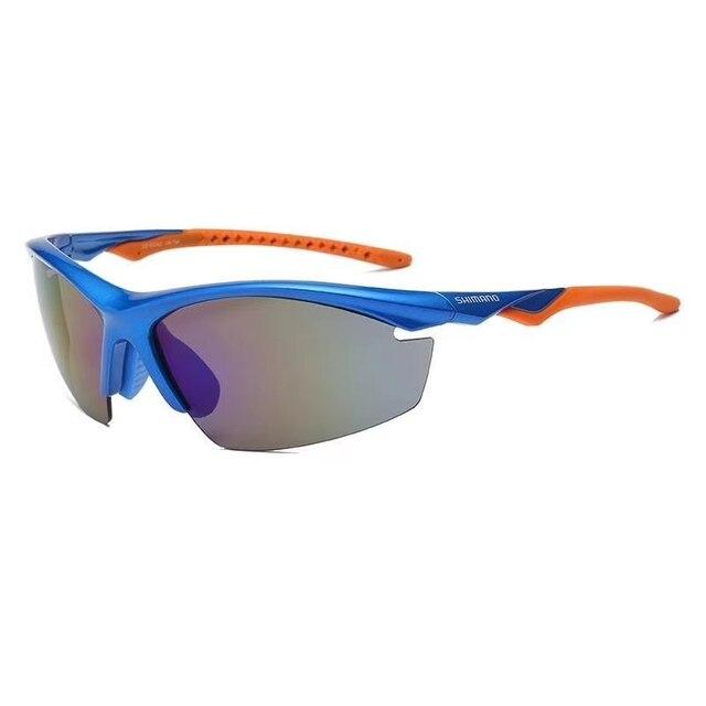 Shimanos gafas polarizadas de pesca para hombre y mujer, lentes de sol deportivas para exteriores, accesorios de pesca