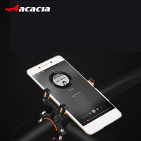 ACACIA Universal Bicycle Phone Holder Aviation Aluminum Motorcycle Electric Car Mount Bracket For 4 7 inch Handlebar Clip Stand