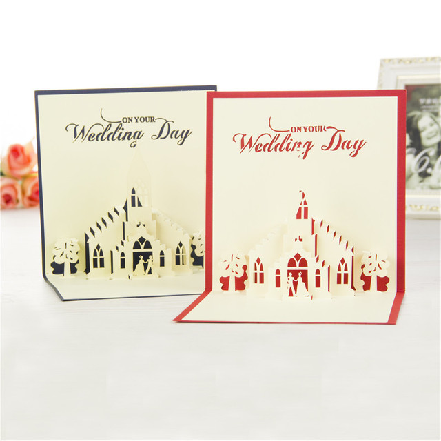 Weeding with lover 3d pop up greeting cards valentines day handmade weeding with lover 3d pop up greeting cards valentines day handmade laser cutting card m4hsunfo