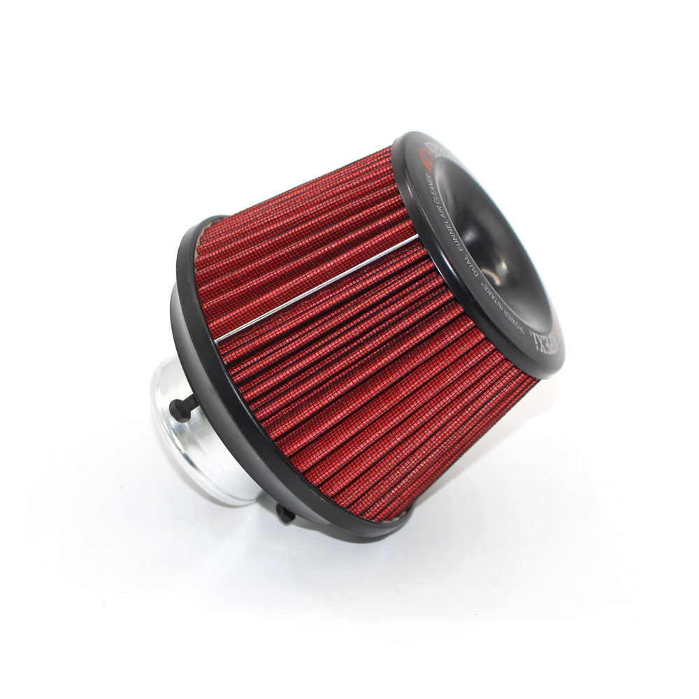 Air Filter 3 76mm Air Intake Filter Height High Flow Cone Cold Air Intake Performance Rad f007 vacuum pump intake air filter assembly fan air filter assembly interface 3 inch wire height 258mm outside diameter 222mm